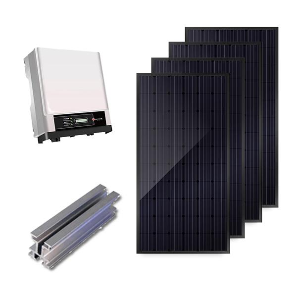 Doe-het-zelf set zonnepanelen