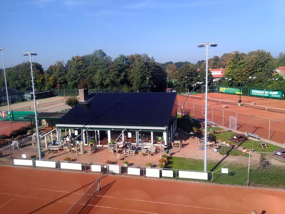 Tennisvereniging Zonnepanelen