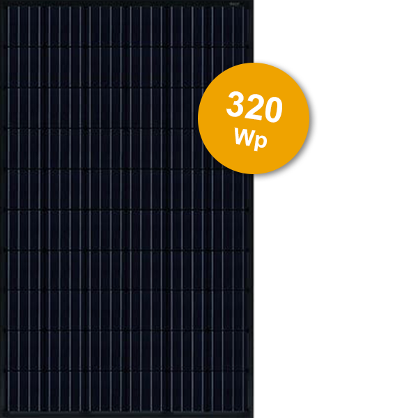 JinkoSolar 320Wp Full Black